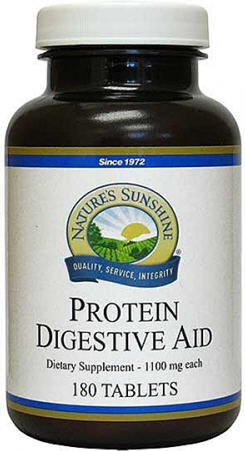 Nature's Sunshine Protein Digestive Aid Tablets 180