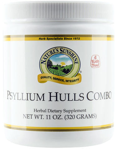 Nature Sunshine Psyllium Hulls Combo 320g - New Zealand Only
