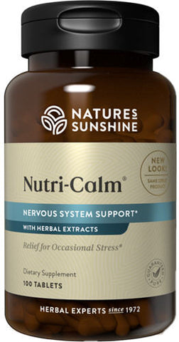 Nature's Sunshine Nutri-Calm Tablets 100