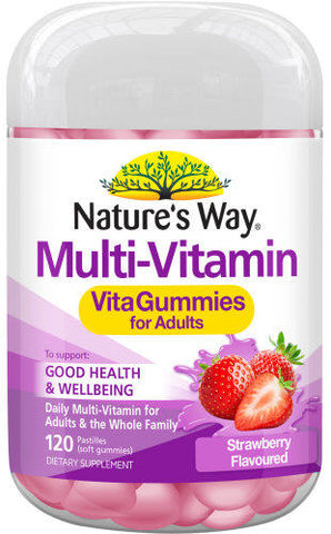 Nature's Way Multi Vitamin VitaGummies Adults 120 - New Zealand Only