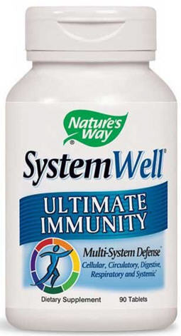 Nature's Way SystemWell® - Ultimate Immunity Tablets 90