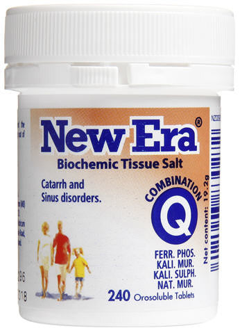 New Era Combination Q Orosoluble Tablets 240