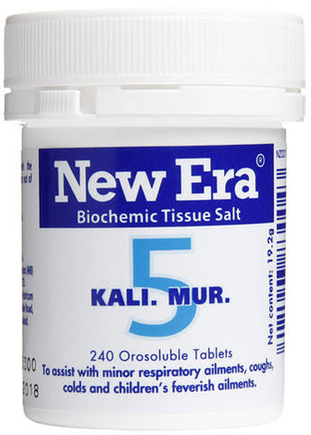 New Era 5 Kali Mur Orosoluble Tablets 240