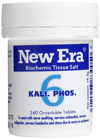 New Era 6 Kali Phos Orosoluble Tablets 240