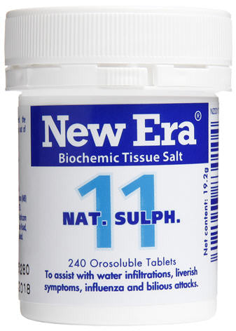 New Era 11 Nat Sulph Orosoluble Tablets 240