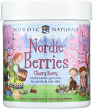 Nordic Berries Cherry Berry Gummy Berries 120 - New Zealand Only