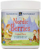 Nordic Berries Original Flavour Gummy Berries 120 - New Zealand Only