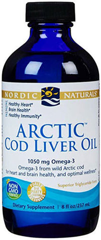 Nordic Naturals Cod Liver Oil Unflavoured 237ml