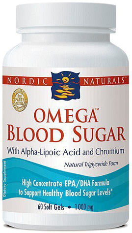 Nordic Naturals Omega Blood Sugar Soft Gels 60