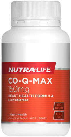 Nutra-Life Co-Q Max 150mg Capsules 60