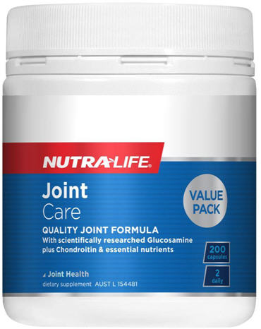 Nutra-Life Joint Care Capsules High Potency Value Pack 200