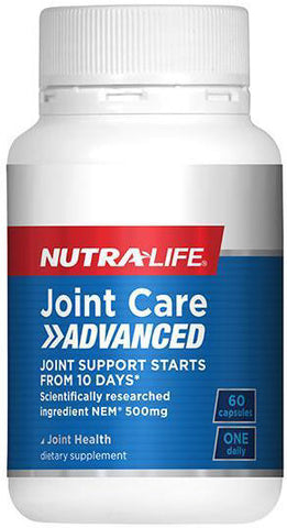 Nutra-Life Joint Care Advanced Capsules 60