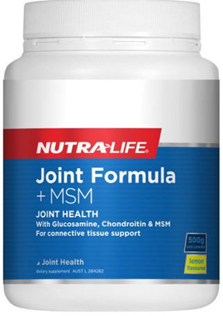 Nutra-Life Joint Formula + MSM Powder 500g