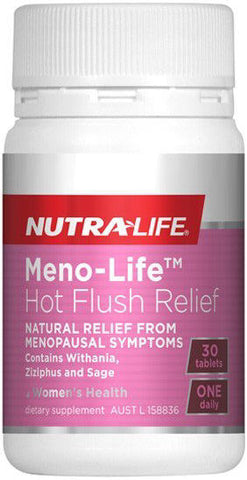 Nutra-Life Meno-Life Hot Flush Relief Tablets 30