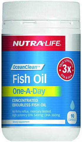 Nutra-Life OceanClean™ Fish Oil One-A-Day Capsules 90