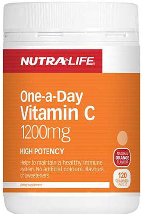 Nutra-Life One-a-Day Vitamin C 1200mg Tablets 120