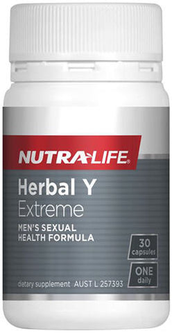 Nutra-Life Herbal Y Extreme For Men Capsules 30
