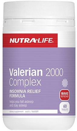Nutra-Life Valerian 2000 Complex Tablets 60 - Unavailable