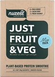 Nuzest Just Fruit & Veg Plant Based Protein Smoothie Mix Sachets 25g x 10