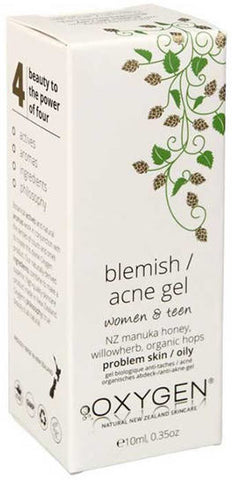 OXYGEN Blemish Acne Gel for Problem or Oily Skin - Women and Teen 10ml