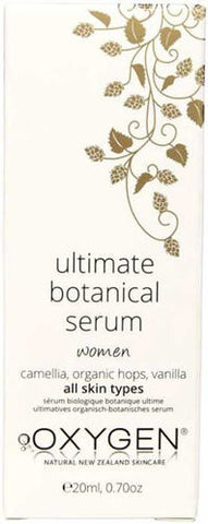 OXYGEN Organic Ultimate Botanical Serum - Women, 20ml