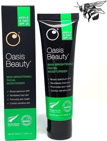 Oasis Beauty Apple-A-Day SPF25 Facial Moisturiser 50ml