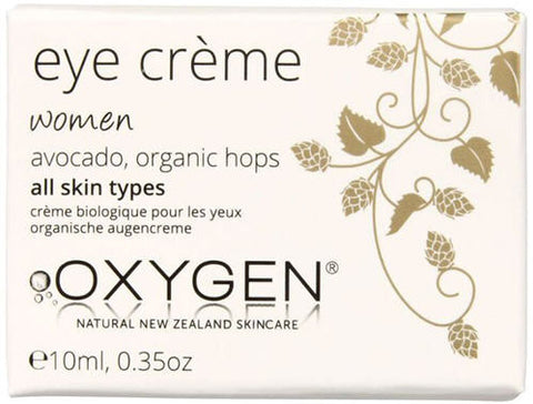 OXYGEN Organic Eye Crème for Women 10ml