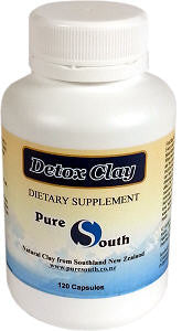 Pure South Detox Clay Powder Capsules 120