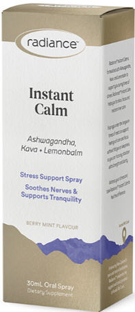 Radiance Ashwagandha Instant Calm Spray 30ml