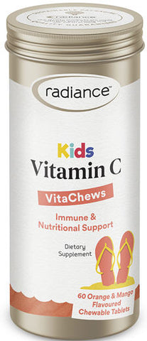 Radiance Kids Vitamin C Chewable Tablets 125mg 60
