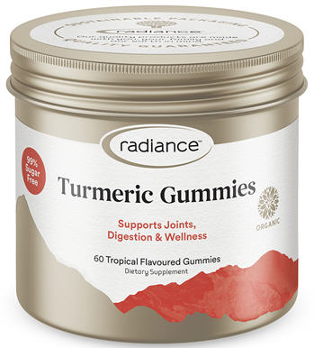 Radiance Turmeric Gummies for Adults 60