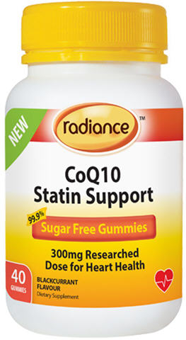 Radiance CoQ10 Statin Support Adult Gummies 60