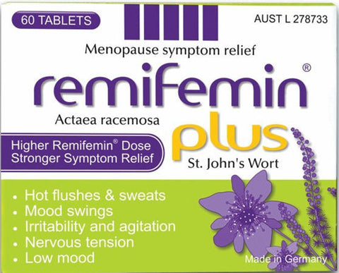 Remifemin Plus with St Johns Wort Tablets 60