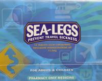 Sea-Legs Meclozine 12.5mg Tablets 12