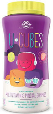 Solgar U-Cubes Multivitamin and Mineral Children's Gummies 60