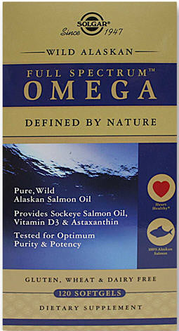Solgar Wild Alaskan Full Spectrum™ Omega Softgels 120