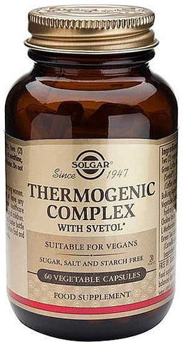 Solgar Thermogenic Complex with Svetol Capsules 60