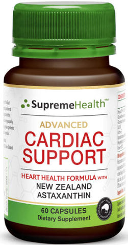 Supreme Health Advanced Cardiac Support Capsules 60