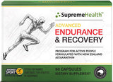 Supreme Health Advanced Endurance & Recovery Program Capsules 60