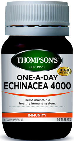 Thompson's Echinacea 4000mg One-A-Day Tablets 30