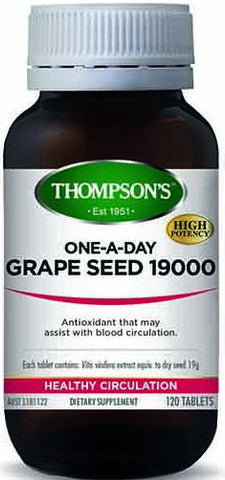 Thompson's Grape Seed 19,000 Tablets 120