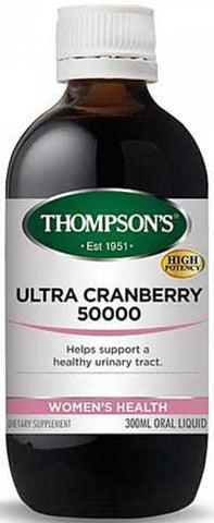 Thompson's Ultra Cranberry 50,000 Oral Liquid 300ml