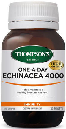 Thompson's Echinacea 4000mg One-A-Day Tablets 60