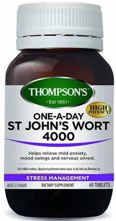 Thompson's St John's Wort One-A-Day 4000mg Tablets 60