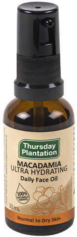Thursday Plantation Macadamia Ultra Hydrating Daily Face Oil 30ml