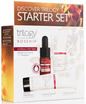 Trilogy Starter Set Rosehip Normal/Dry Skin