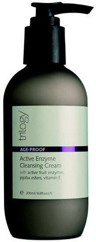 Trilogy Age Proof Active Enzyme Cleansing Cream 200ml