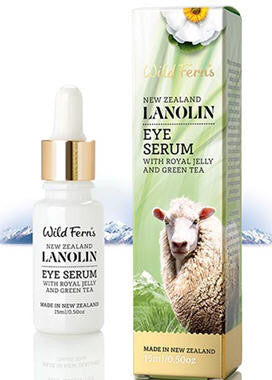 Wild Ferns Lanolin Eye Serum with Royal Jelly and Green Tea 15ml