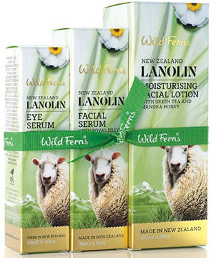 Wild Ferns Lanolin Serum Set