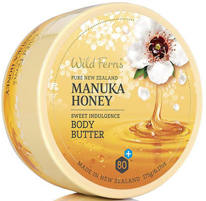 Wild Ferns Manuka Honey Body Butter 175g